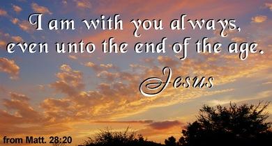 Kuvahaun tulos haulle Matthew 28:20